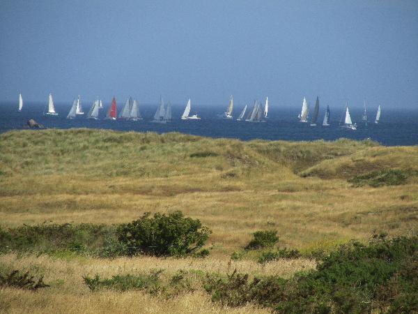 dunes et voiliers à St-Pabu